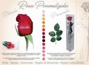 rosas personalizadas