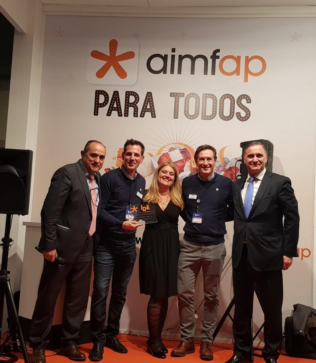 Entrega de premios AIMFAP